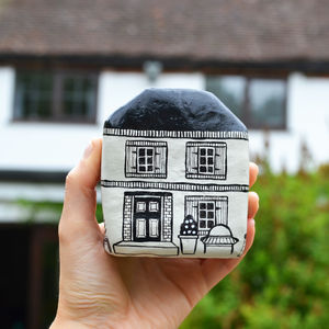 Personalised Ceramic House Model - gifts for couples