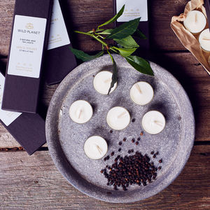 Midsummer Box Of Five Luxury Aromatherapy Tea Lights