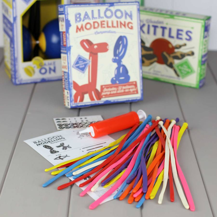 easy balloon modelling instructions