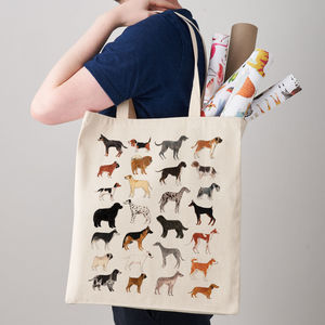 Dogs Canvas Tote Bag