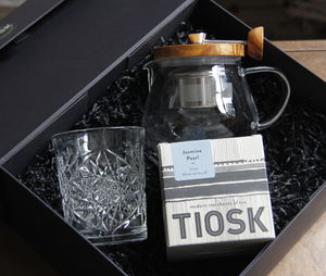 Glass Teapot + Tea Glass + Tea Gift Set