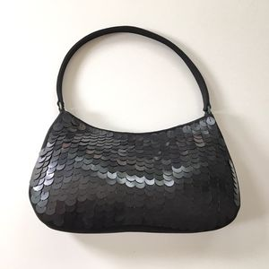 Gift For Her Satin Sequin Evening Bag