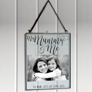 Personalised 'Mummy And Me' Photo Frame - picture frames