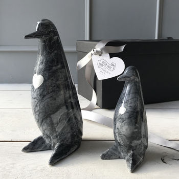 Mummy Or Daddy And Me Marble Penguins