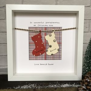 Personalised 'Grandparent'/'Parent' Christmas Frame