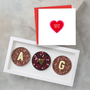 'I Love You' Valentine's Chocolate And Card Gift Set