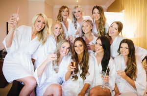Bridal Party Personalised Dressing Gowns