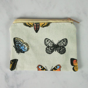 Butterfly Print Coin Purse