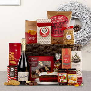 Alcohol Free Christmas Feast Hamper - chocolates & confectionery