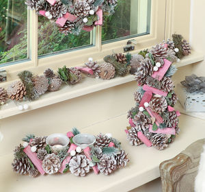 Sherbet Pink Christmas Decoration Collection