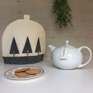 Personalised Tea Cosy With 'Harris Tweed' Trees - kitchen accessories