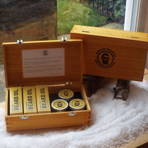 Organic Beard Grooming Set Handmade In The UK
