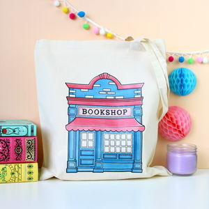 Bookshop Tote Bag