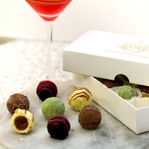Cocktail Collection Chocolate Truffle Gift Box - christmas entertaining