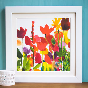 'Flora' Mounted And Signed Print - nature & landscape