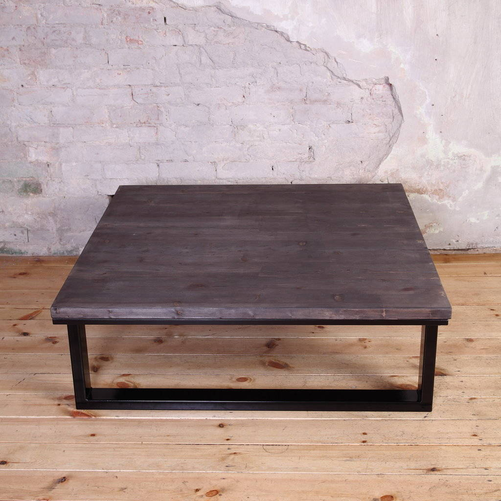 Modern Industrial Style Coffee Table