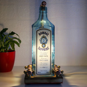 Handmade Gin And Copper Lamp - table & floor lamps
