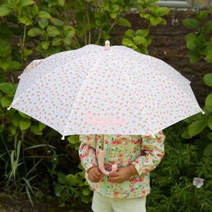 Personalised Children's Umbrella - umbrellas & parasols