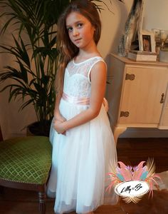 Cara ~ Flower Girl | Christening Dress