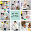Personalised Space Adventure Colour In Pyjamas And Pens