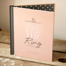 Hen Party Message And Memory Book In Blush