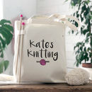 Knitting Bag With Knitting Needles Knitting Gift