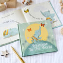 Welcome To The World Hardback New Baby Arrival Book