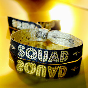 Bride Squad Bachelorette / Hen Party Wristbands