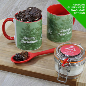 Christmas Trees Cake In A Cup Kit