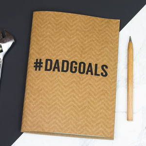 #Dadgoals Notebook - writing