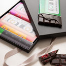 Music Lover's Chocolate Bar Cassettes And Card