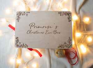 Cute Personalised Christmas Eve Box