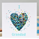 I Love Grandad Card / We Love Grandad
