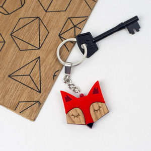 Fox Keyring Or Animal Keychain - women's accessories