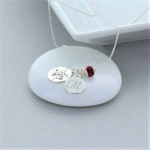 Roses Are Red Personalised Necklace