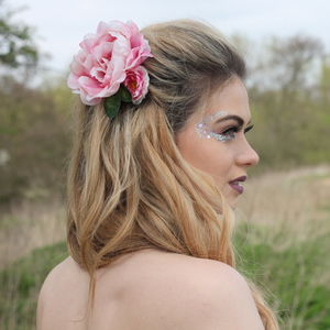 Flower Hair Clip - head pieces