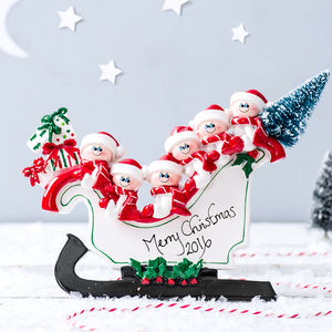 Personalised 'Freestanding' Decoration - snow globes & ornaments
