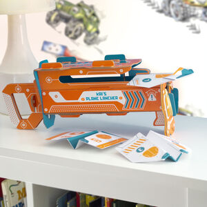 Build Your Own Personalised Paper Plane Launcher