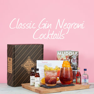 Classic Gin Negroni Cocktail Set - gin