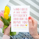 Single Mum Mother's Day Card