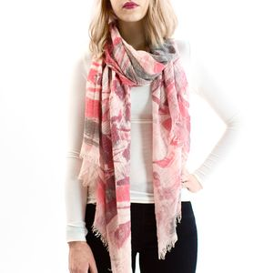 Dusty Pink Fade Away Scarf