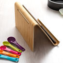 Personalised Recipe Book Or Tablet Stand For Kitchen