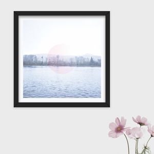 Limited Edition 'Pink Moon' Photographic Print