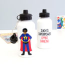 Superhero Water Bottle