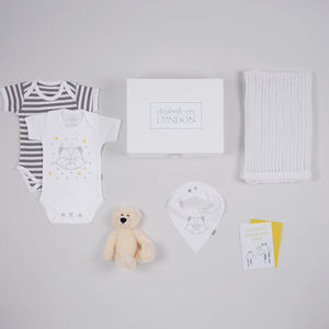 Rudy Racoon Baby Gift Box - gift sets