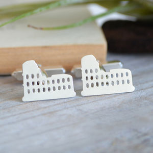 Colosseum Cufflinks In Sterling Silver - whats new