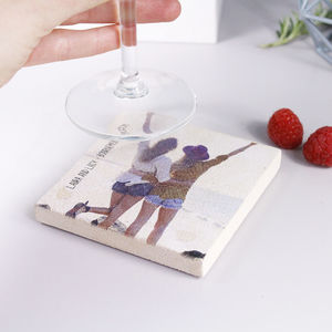 Best Friend Photograph Personalised Coaster For Her