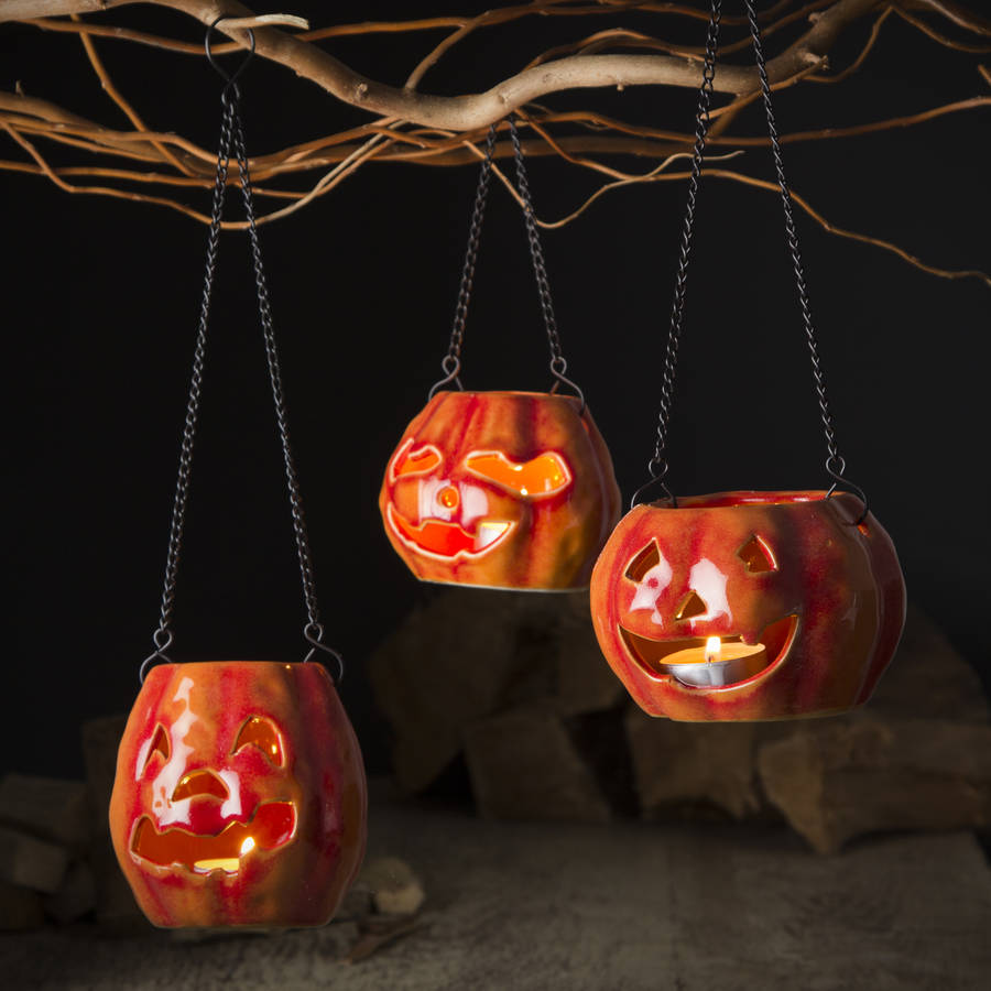 halloween pumpkin lanterns by the contemporary home ...