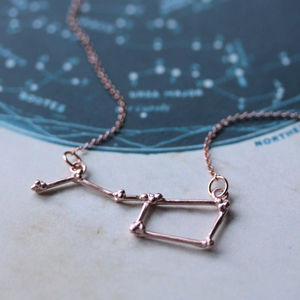 Ursa Major Constellation Necklace
