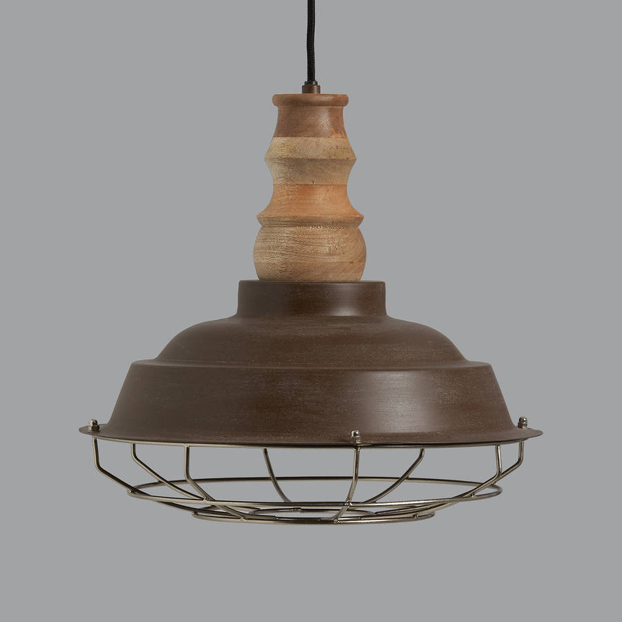 Leipzig Industrial Pendant Light